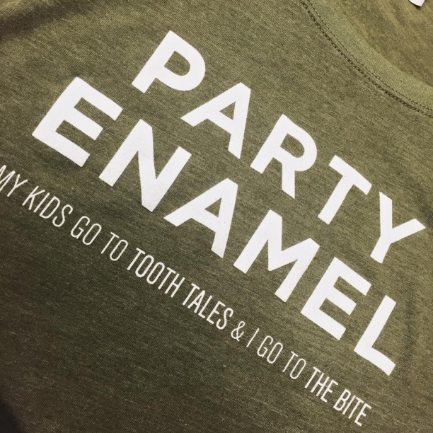 Get Your Party Enamel Tee Today!
